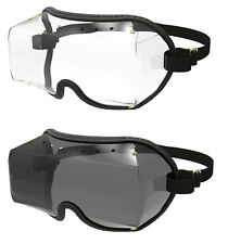 KROOPS VFR OTG  OVER THE GLASSES GOGGLES for Horse Riding / SkyDiving / Cycling