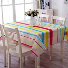 Floral Printed PVC Material Square Shape Table Cloth For Home Party Decor FA11