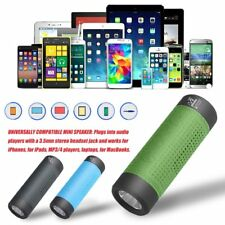 Outdoor Bicycle Bluetooth Speaker 4000mAh Power Bank LED Flashlight FM Radio loU