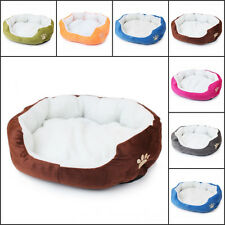 Pet Dog Cat Bed Puppy Cushion House Pet Soft Warm Kennel Dog Mat Blanket Warm*