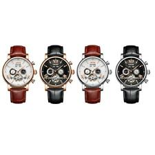 KINYUED Business Men's Luxury Automatic Mechanical Chronograph Sports Watch