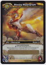World of Warcraft WOW TCG BLAZING HIPPOGRYPH Unscratched Loot Card