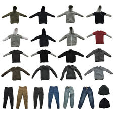 1/6 SCALE ACTION FIGURE JACKET HOODIE T-SHIRT JEANS PANTS HAT CLOTHING ACCESSORY