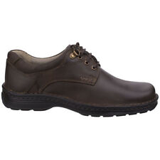 Hush Puppies Mens Geography Lace up Leather Smart Formal Oxford Shoes