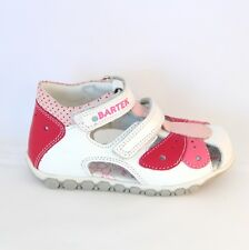 BARTEK - quality, leather, European kids / toddler shoes / sandals, casual, pink