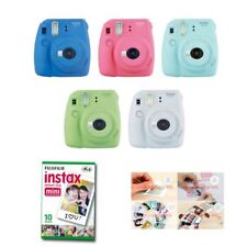 Fujifilm Instax Mini 9 Instant Camera 2 Packs Film +Sticker Gift Fuji 20 Photo 8