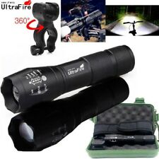 Ultrafire 50000Lumens LED T6 Zoomable Tactical LED 18650 Flashlight Torch Light