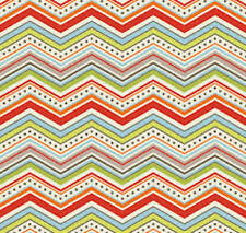 One For The Boys - Chevron Cream Fabric by Riley Blake / Quilting / Patchwork