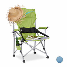 Folding Fishing Chair Foldable Bottle Holder for Camping and Gardening