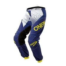 Oneal 2018 Element Racewear Motocross Pants Children's - Blue - YELLOW ENDURO