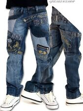 ROCK N ROLL JEANS BY BROOKLYN MINT, BAR DENIM DESIGNER PUNK PANTS, URBAN HIPHOP