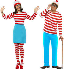WHERES WALLY WENDA FANCY DRESS COSTUME LICENSED BOOK CHARACTER ADULTS MENS WOMEN