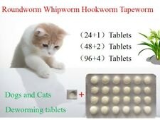 24+1 Tablets, Dog and Cat Wormer, Worming Tablets, Dewormer