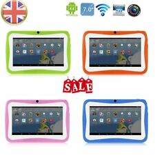 "7"" Kids Tablet PC 1.5GHZ Quad Core 8GB WIFI Android Tablet 1024x600 Screen GA"