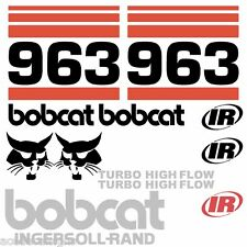 ANY MODEL Bobcat 963 DECALS Stickers Skid Steer loader New Repro decal Kit