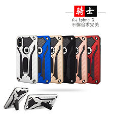 Heavy Duty Built-in Kickstand Protective Dual Layer Armor Shock Rugged Back Case