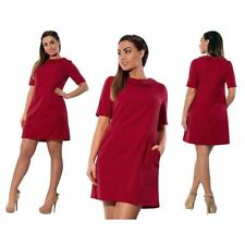 Peter Pan Collar Pocket Decorated Short Sleeve Casual Mini Dress For Women