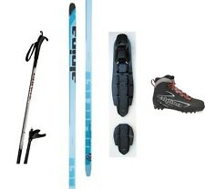 NEW ALPINA FRONTIER XC CROSS COUNTRY NNN SKIS/BINDINGS/BOOTS/POLES PACKAGE 182cm