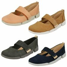 Ladies Clarks Casual Flat Shoe Tri Carrie