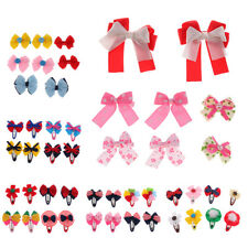 8 Pcs Kids Baby Girls Hair Clip Bow Accessories Children Sides Boutique