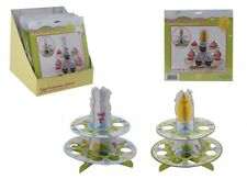 New 2 Tier Cardboard Easter Egg Eggs Cupcake Stand Holder Fairy Cup Cake Muffin
