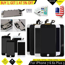 Apple iPhone 6 Plus 6S 5S 5C 5G 5 Home Button TOUCH LCD Screen Display Digitizer