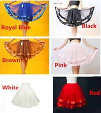 Sale Womens' Underskirt Petticoat Tutu Fancy Net Retro Ribbon Tulle Dance Skirt