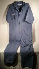 VINTAGE FORD MOTOR CO FACTORY COVERALLS SZ 52 REG WORK CHORE PRISON YARD CHIC