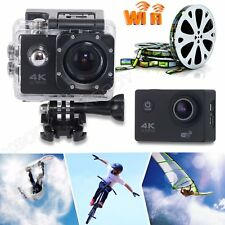 New WiFi HD 4K Waterpoof Dash Cam Video Sports Camera Helmet Action Camcorder DV