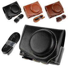 PU Leather Camera Case Bag Cover For Canon Powershot G7XII G7X II G7X Mark II AU