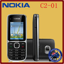Brand New Nokia C2-01 Black 3G Sim free Unlocked Mobile Phone Complete AU Stock