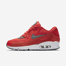 Nike WMNS Air Max 90 [325213-801] Women Casual Shoes Max Orange/Grey