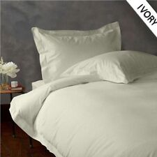 NEW 1000TC EGYPTIAN COTTON COMPLETE BEDDING COLLECTION IN ALL SETS & IVORY COLOR