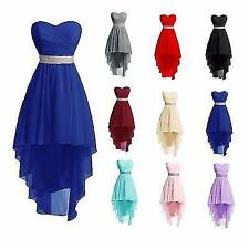 High low Short Cocktail Bridesmade Homecoming Prom Gown Party Evening dress F23Y