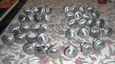 DRAWER PULLS ~ BRUSHED NICKLE ROUND ~ VERY GOOD CONDITION