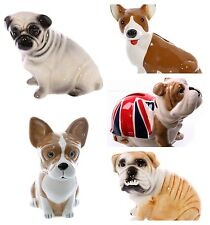 Novelty Ceramic Dog Money Box - Pug / French Bulldog / Corgi / British Bulldog