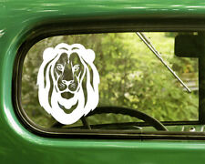 2 LION DECAL Stickers For Car Window Truck Bumper Laptop RV