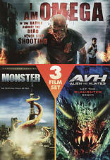 NEW!!! I Am Omega/Monster/Alien vs. Hunter (DVD, 2010)