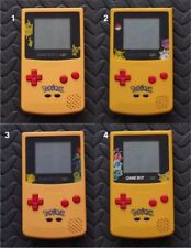 Game Boy Color Pokemon LIMITED EDITION System-Red Buttons-You Pick Screen Lens!