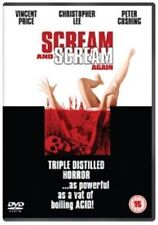 Scream And Scream Again (DVD, 2013) Vincent Price Christopher Lee Peter Cushing