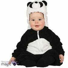Cute Baby Toddler Panda Zoo Animal Jungle Book Week Fancy Dress Costume Outfit