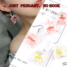 Goldfish Water Bag Shape Ear Ring Dangle Hook Earrings Jewel Pendent Charming