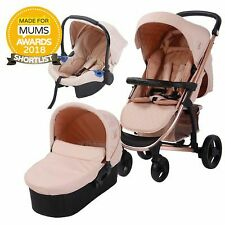 My Babiie MB200+ Baby / Child Travel System - Billie Faiers Rose Gold & Blush