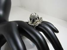 Brighton Maya Twist Ring w Butterflies and Crystals NWT size 6