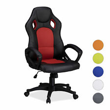 Gaming Chair XR9, PC Gamer Swivel Office Chair with High Capacity, Race Car Look