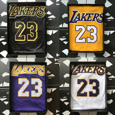 Los Angeles Lakers LeBron James #23 Men's 4 colours Stitch Swingman Jersey