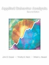 Applied Behavior Analysis by William L. Heward, John O. Cooper and Timothy E. He