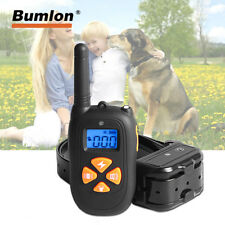 Dog Training Collar Rechargeable Waterproof Remote Barking Stop Device all dogs