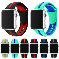 Replacement iWatch Band Silicone Sports Wrist Strap for Apple Watch Series 3/2/1
