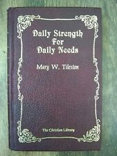 1928 DAILY STRENGTH FOR DAILY NEEDS, MARY W TILESTON, DAILY READING, DEVOTIONS